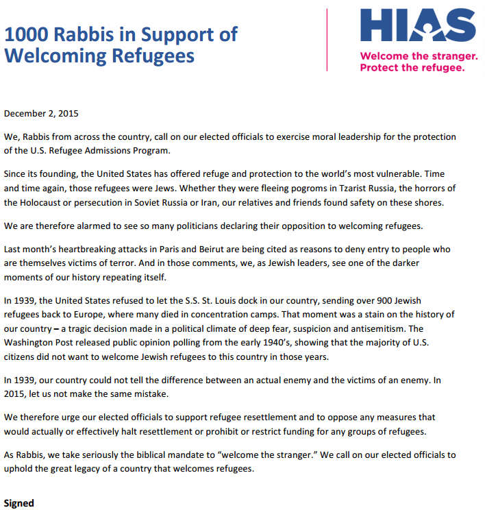 1000-rabbis-demand-welcome-syrian-refugees