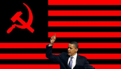 Communist-Obama-red-black-us-flag