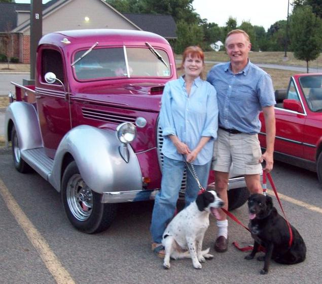 Margi-John-Old- Timers-Car-Show -Sarver-Pa-Sept- 2008