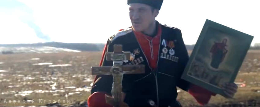 cossack-russian-fighter-cross-icon-donbass-2015