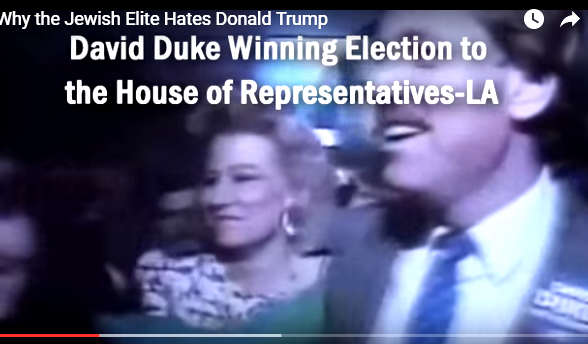 Image result for David Duke works for the Jews