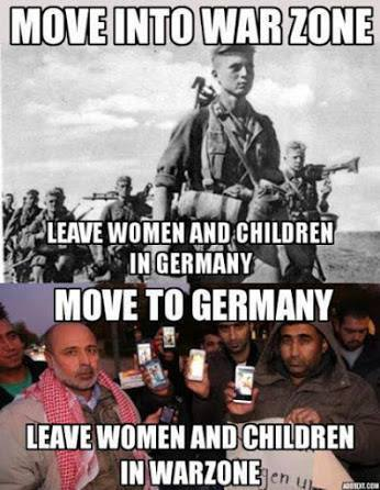 germans-wwii-leave-germany-for-war-arabs-leave-war-for-germany