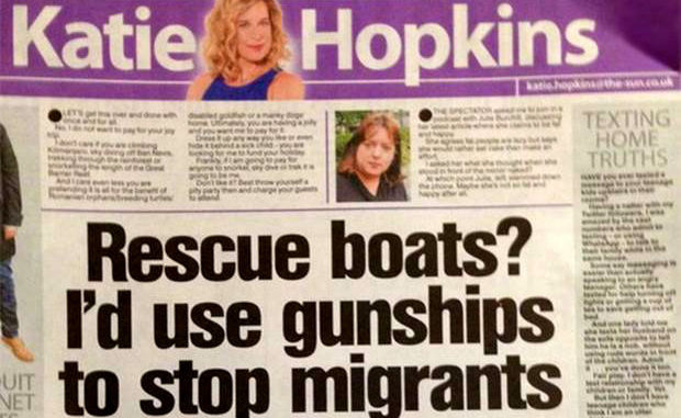 """Daily Mail's Katie Hopkins accused of """"hate crime,"""" reported to CPS, and blasted by JK Rowling for this editorial on the Westminster Bridge massacre"""