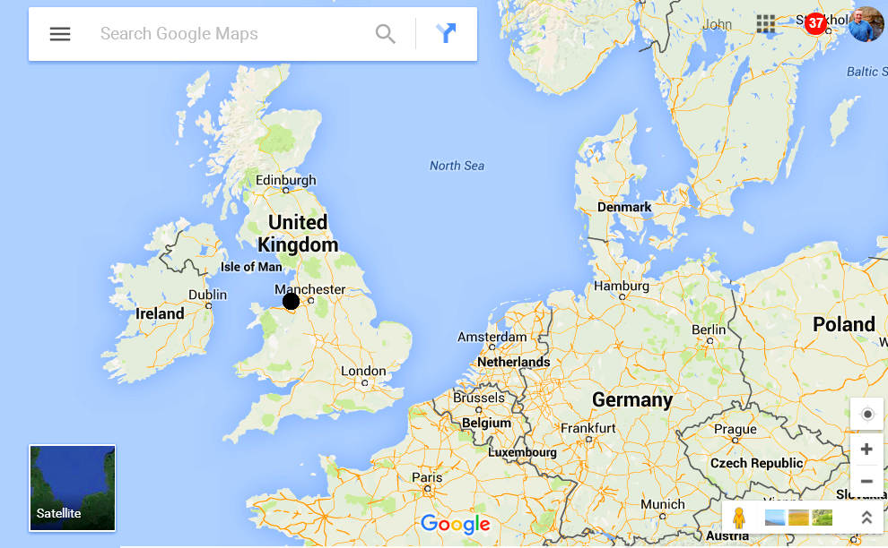 location-map-southport-england