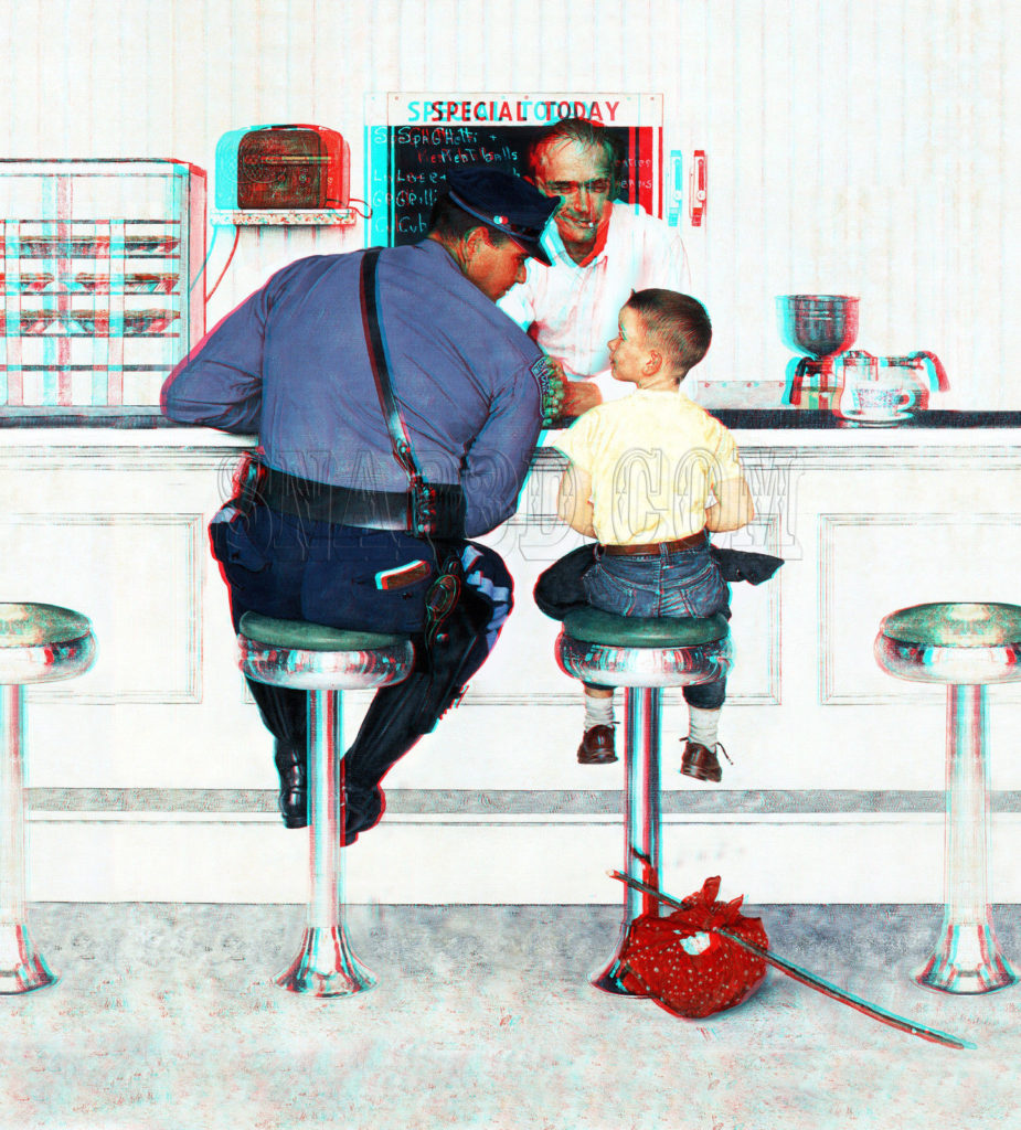 police-officer-norman-rockwell-runaway