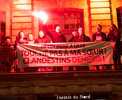protest-torch-illegals-generation-identity-Lille-France
