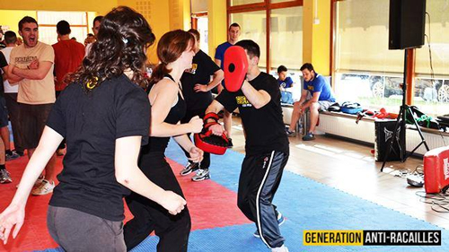 self-defense-women-generation-identity-France