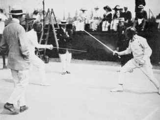 1912_olympics-fencing_patton_and_mas_latrie