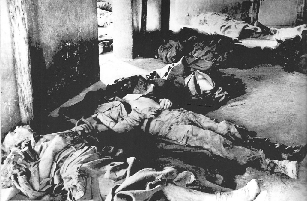 26 US officers killed Stalag XII Allied bombs