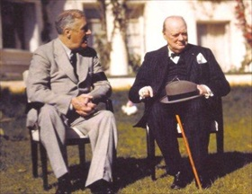 Casablanca_FDR_Churchill