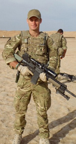 *** COLLECT IMAGE - NO SYNDICATION - NO LIBRARY - BEST SIZE *** Credit Bronwyn Royce CAYLE ROYCE ON ACTIVE DUTY IN AFGHANISTAN
