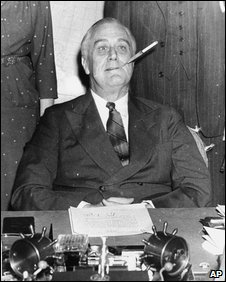 FDR cigarette holder