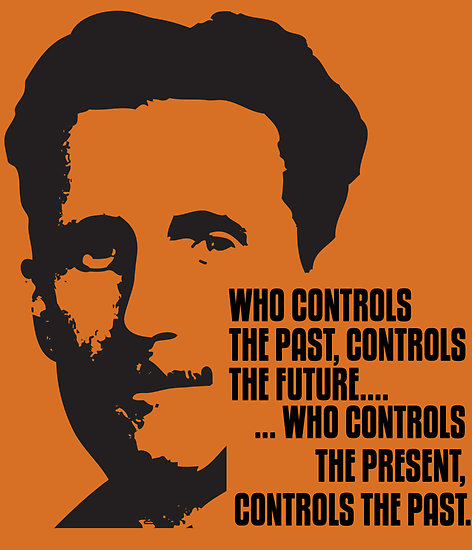 George-Orwell-1984-quote-control-past-future