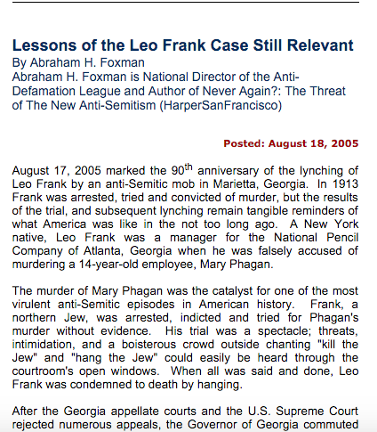 Lessons-of-Leo-Frank-Case-adl-no-evidence