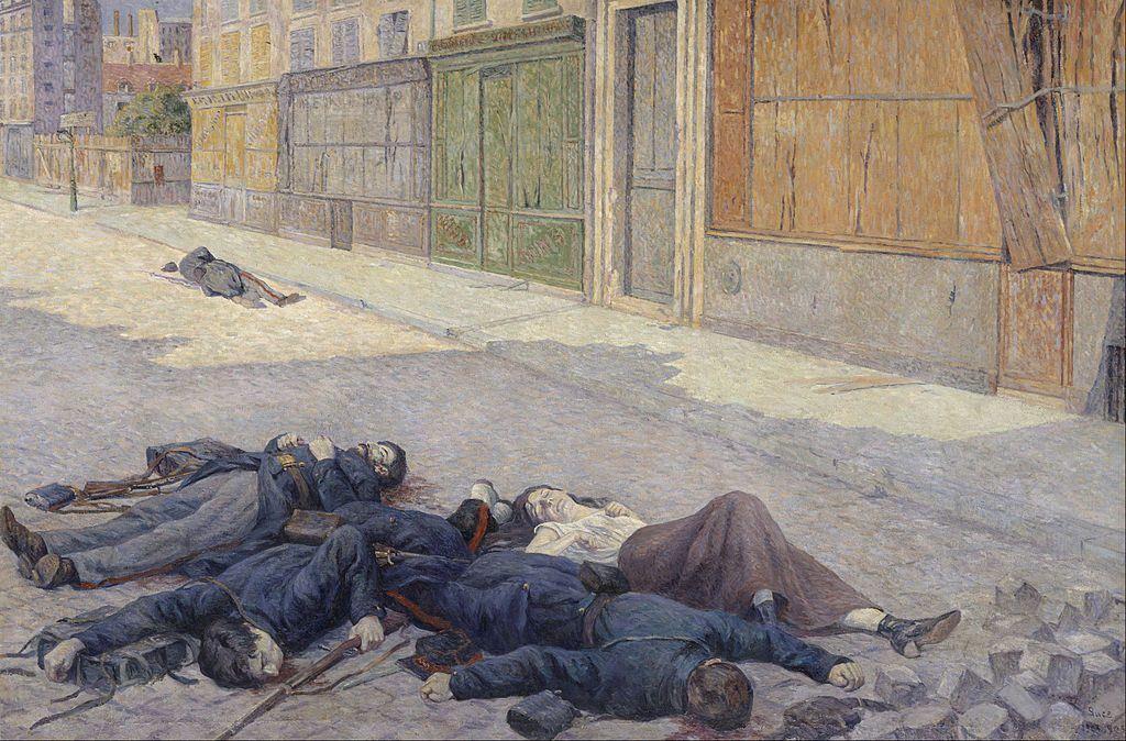 maximilien_luce_-_a_street_in_paris_in_may_1871_commune