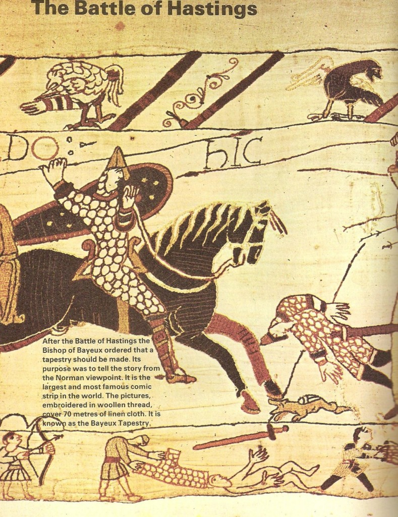 Norman knight Bayeux Tapestry