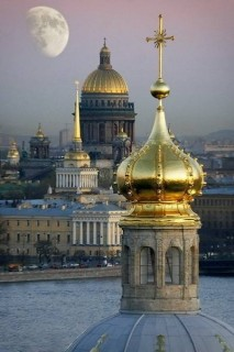St-Petersburg-Russia-seven-golden-domes