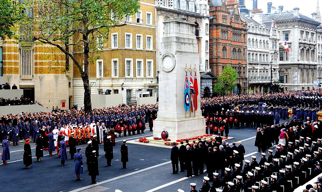 Wreaths_Laid_Cenotaph_London_Remembrance_Sunday_Service