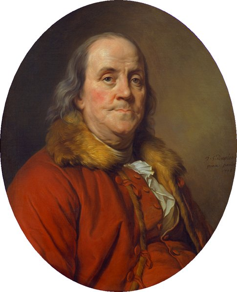 To an admirer of Ben Franklin — white supremacist founding father, business mogul and scientific genius