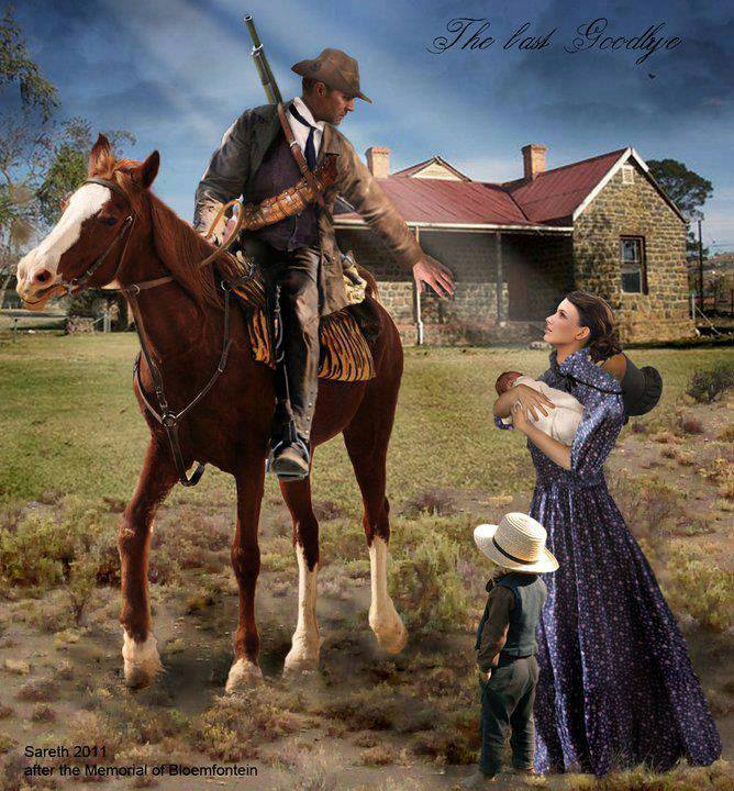 boer-soldier-farewell-to-wife-baby-son-painting