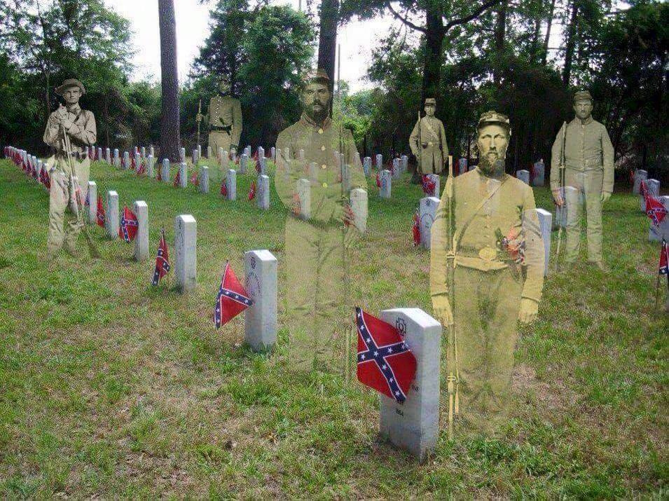 confederate-soldiers-photos-cemetery-flag