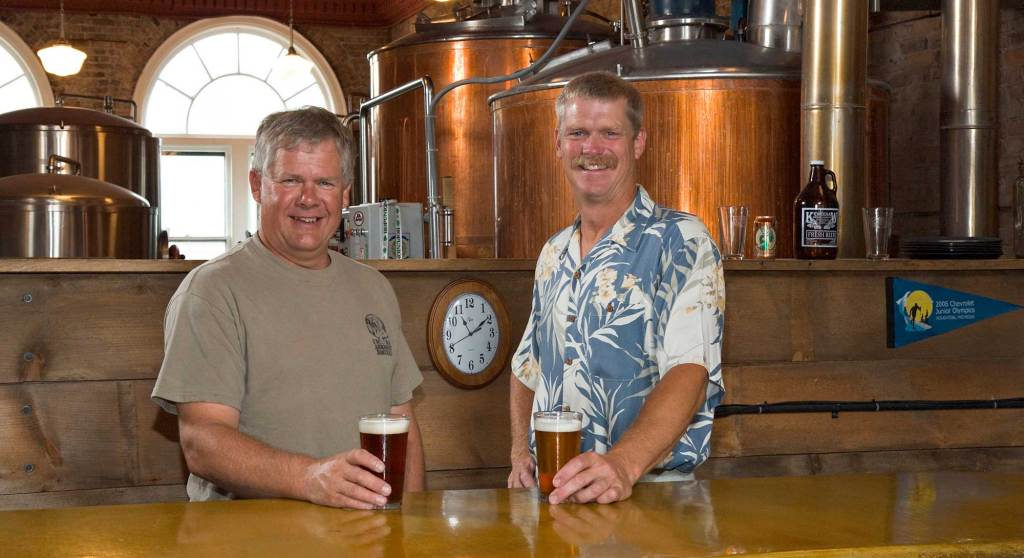 dick-gray-and-paul-boissevain-owners-keweenaw-brewery-houghton-upper-michigan