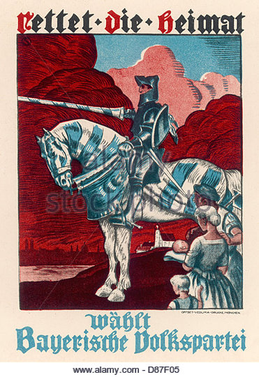 election-poster-1924-knight-bavarian-folk-party