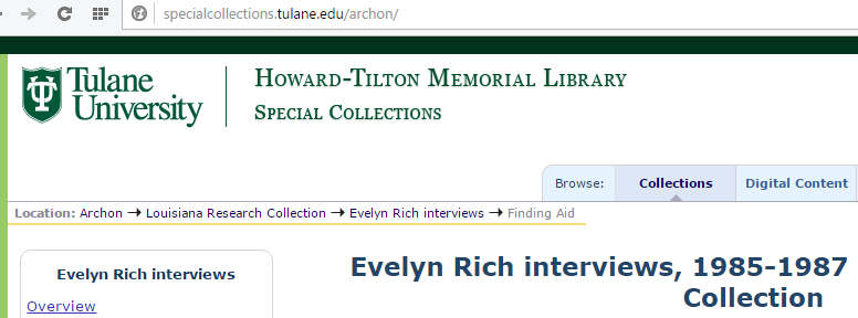 evelyn-rich-tulane-interviews-wn
