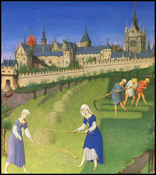 french-castle-peasants-till-land-middle-ages