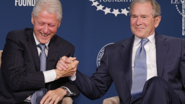 """""""We are brothers from a different mother"""" -- George W. Bush"""