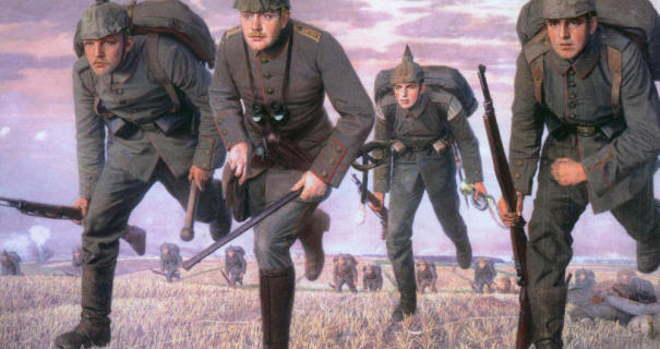 german-soldiers-charge-wwi