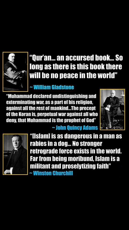 gladstone-adams-churchill-on-islam
