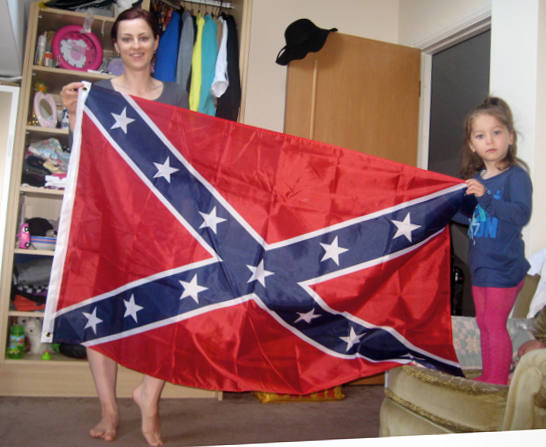 jack-sen-wife-nataliya-alex-confederate-flag