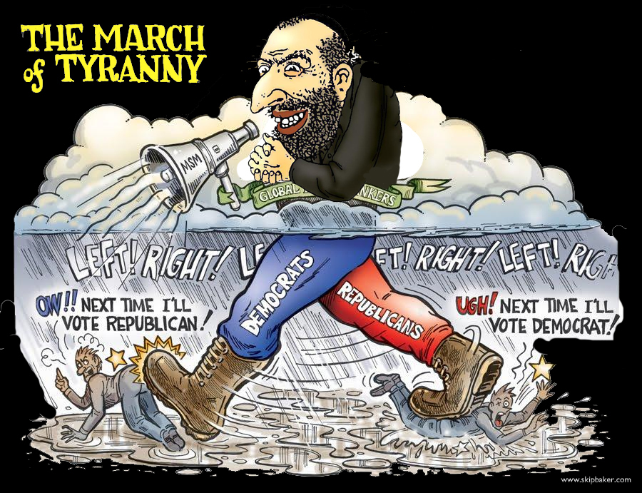 jew-marches-democrat-republican