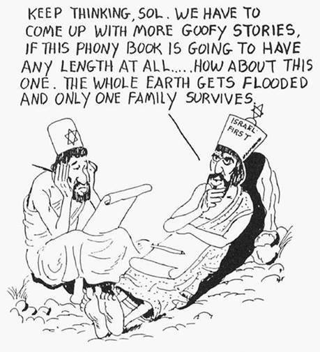 jews-invent-old-testament-bible-flood