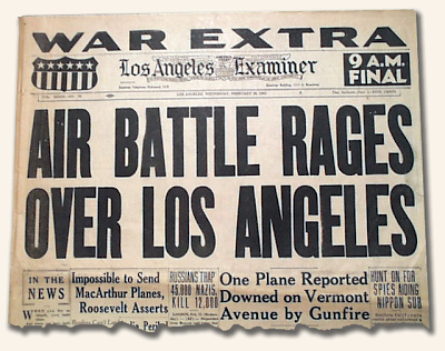 los-angeles-examiner-ufo-anti-aircraft-1942