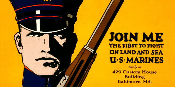 marine-wwi-recruiting-poster