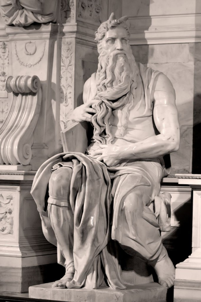 michelangelo-moses-horns