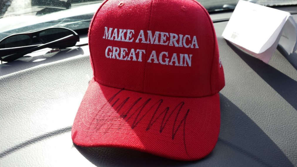 mike-delaney-trump-make-america-great-autographed-cap
