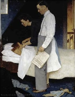 norman-rockwell-freedom-from-fear-tucking-boys-in