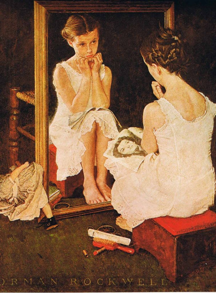 norman-rockwell-girl-at-mirror