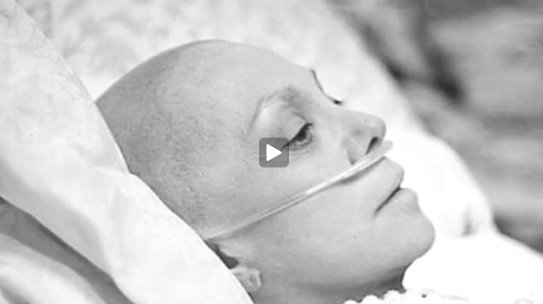 numec-cancer-woman-tube-bw