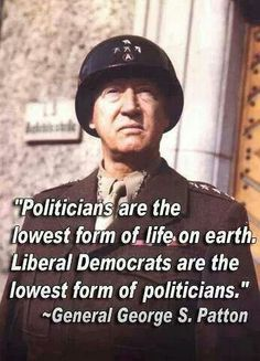 patton-liberals-democrats-lowest-form-of-life