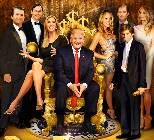 trump-family-dollar-sign-throne