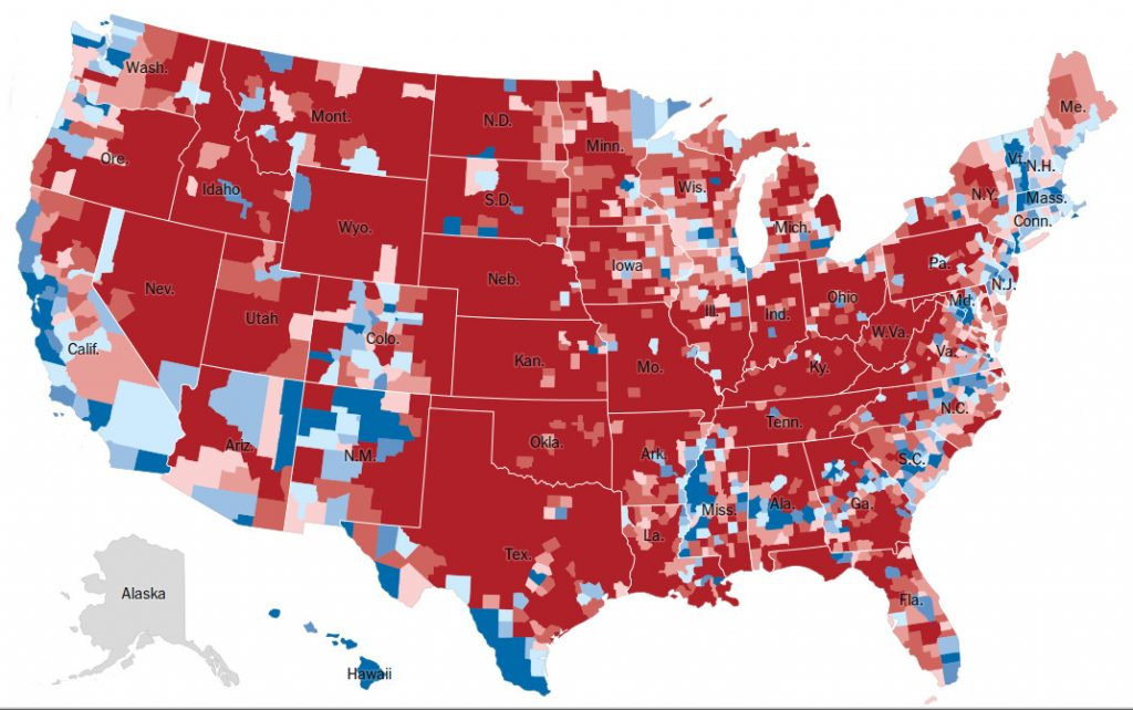 trump-win-2016-by-counties